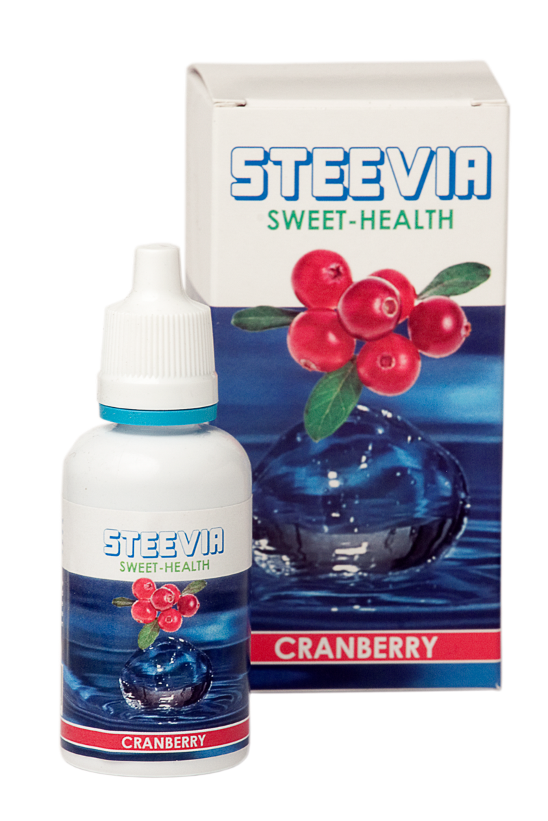 Steevia Natural Health Cranberry