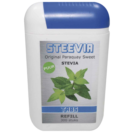 Steevia (stevia) tabs dispencer 125 tabletten