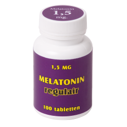 Melatonin regulair 1,5 mg. 100 tabl.