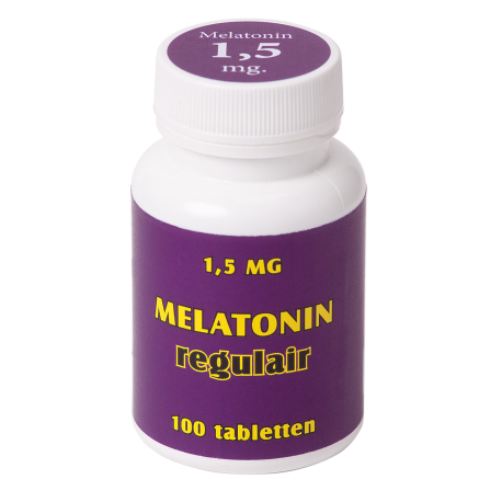 Melatonin regulair 1,5 mg. 100 tabl.