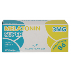 Super Melotonin 3mg 30 tabl. strip