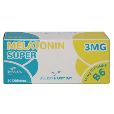 Super Melotonin 3mg 30 tabl. strip