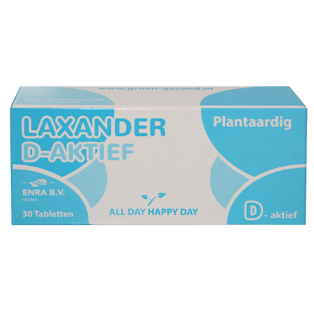 Laxander D Plus 30tabl (strip)